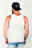 Майка мужская с круглым вырезом №85F018 (Белый)