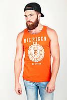 Майка мужская с круглым вырезом №85F018 (Оранжевый)