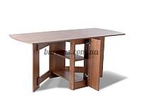 Стол  раскладной Тумба  К-2,700*340*750, орех лесной