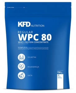 Regular WPC 80 KFD Nutrition 750 g, фото 2