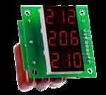 Вольтметр 380 V  без корпуса (3x220в)
