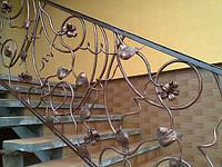 Перила лестничные, кованые 179