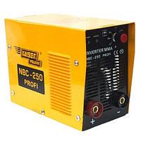 Сварочный инвертор KAISER NBC-250 PROFI L, 250 ампер, Электрод 2-5, Германия