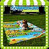 Детский игровой коврик, аналог BabyPol (бебипол) 250х120 см