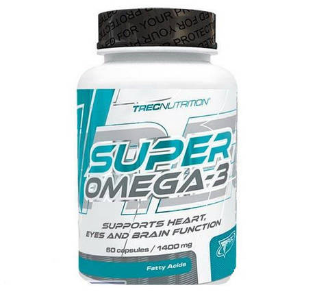 Super Omega 3 Trec Nutrition 60 caps, фото 2