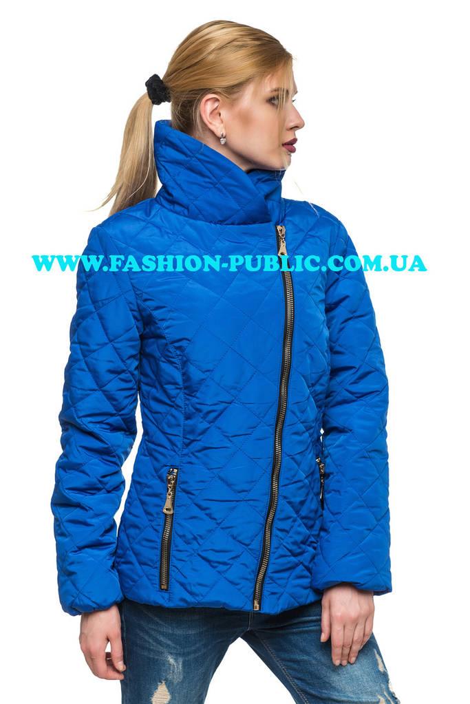 Демисезонная женская куртка в двух стилях