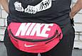 Сумка на пояс Nike Team Training 142, червоний, копія, фото 6