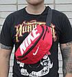 Сумка на пояс Nike Team Training 142, червоний, копія, фото 7