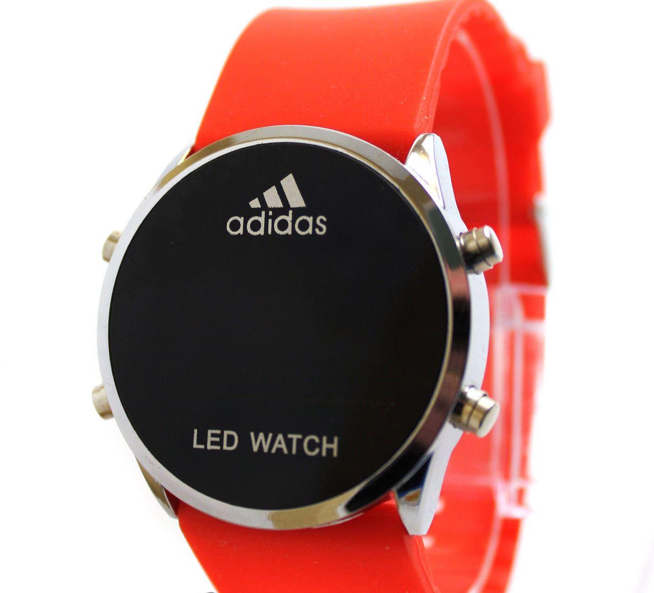 Спортивные часы LED WATCH, Лед красные ( код: IBW005R )
