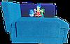 """Детский диван кровать """"Мультик"""" с персонажами мультфильмов, Головоломки (Разные рисунки)"""