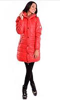 Куртка MONCLER удлиненная с капюшоном 431 (КЭТ)