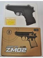 Пистолет ZM02 с пульками метал.кор.