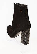 Осенние ботинки на каблуке Kluchini 3754, фото 2