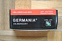 Батарейка AAA GERMANIA мини-пальчиковая