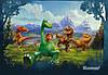 """Фотообои """"Добрые динозавры"""" 368х254 см"""