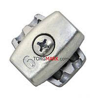 Зажим для троса 3 мм обжимной (бочка) , фото 1