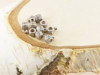 Бусина с кольцом для подвески  (10шт) 10х5х5мм