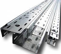 Кабель-канал перфорированный метал. , 100х80х3000мм