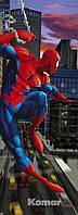 """Фотообои """"Человек-паук в Нью-Йорке"""" 73х202 см"""