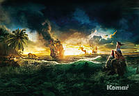 "Фотообои ""Пираты Карибского моря"" 184х127 см"
