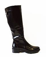 Зимние кожаные сапоги El Passo