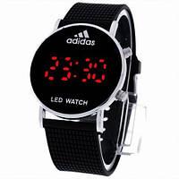 Спортивные часы LED WATCH, Лед черные ( код: IBW006B )