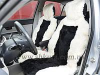 Чехлы на сидения из стриженой овчины 02