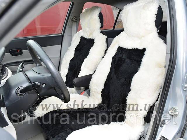 Чехлы на сидения из стриженой овчины 02, фото 1