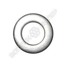 Шайбы плоские нержавеющие М18 DIN 125, ГОСТ 11371-78 | Размеры, вес, фото 3