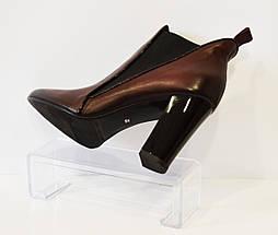 Ботинки женские бордовые Laura Messi, фото 3