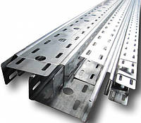 Кабель-канал перфорований метал., 80х80х3000мм
