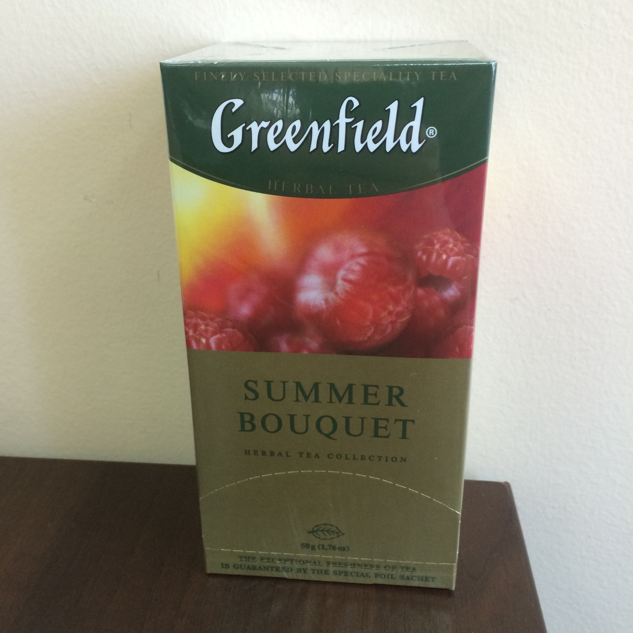 Чай Greenfield Summer Bouquet 25 пак.