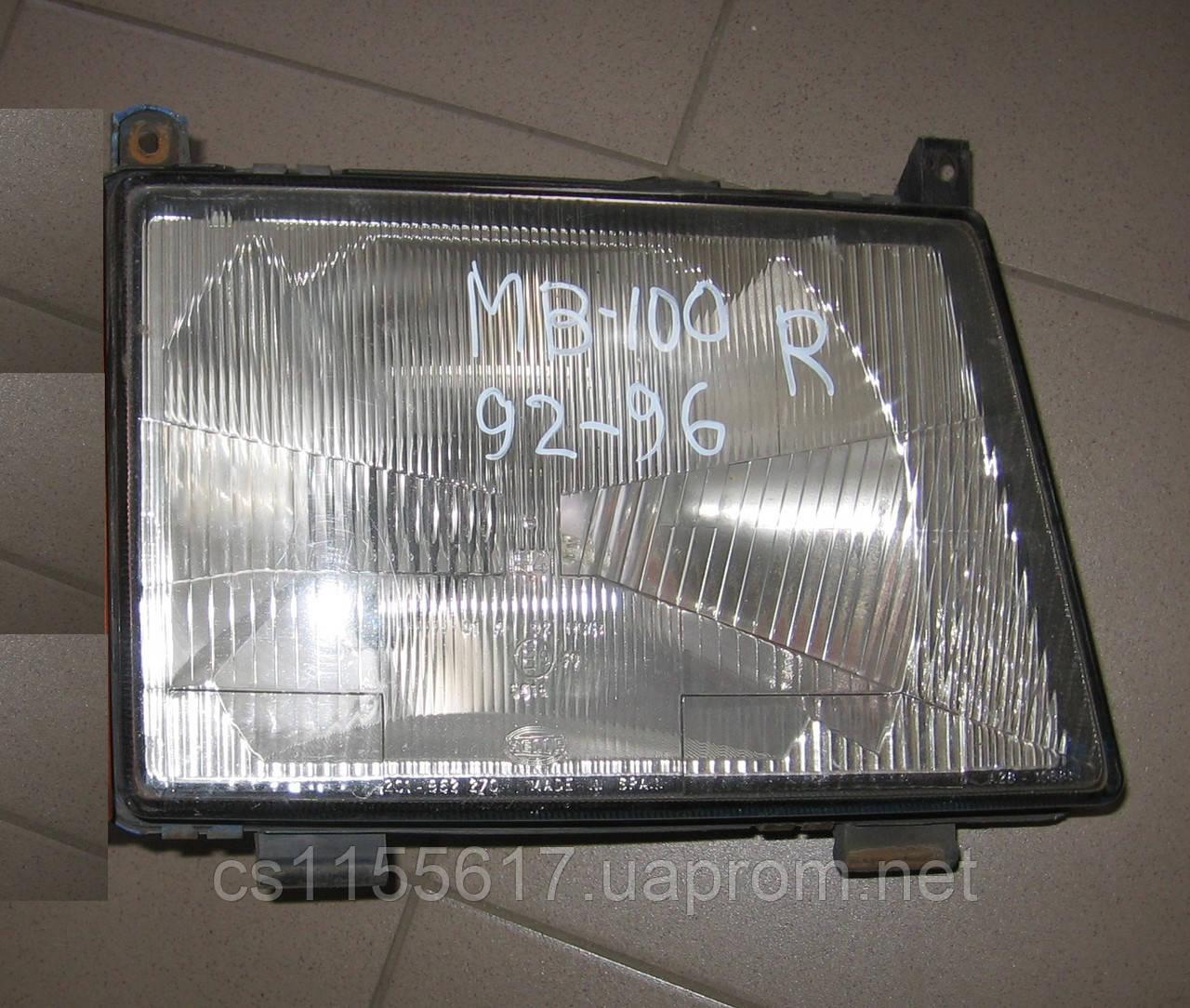 Фара правая б/у на Mercedes MB-100 год 1992-1996