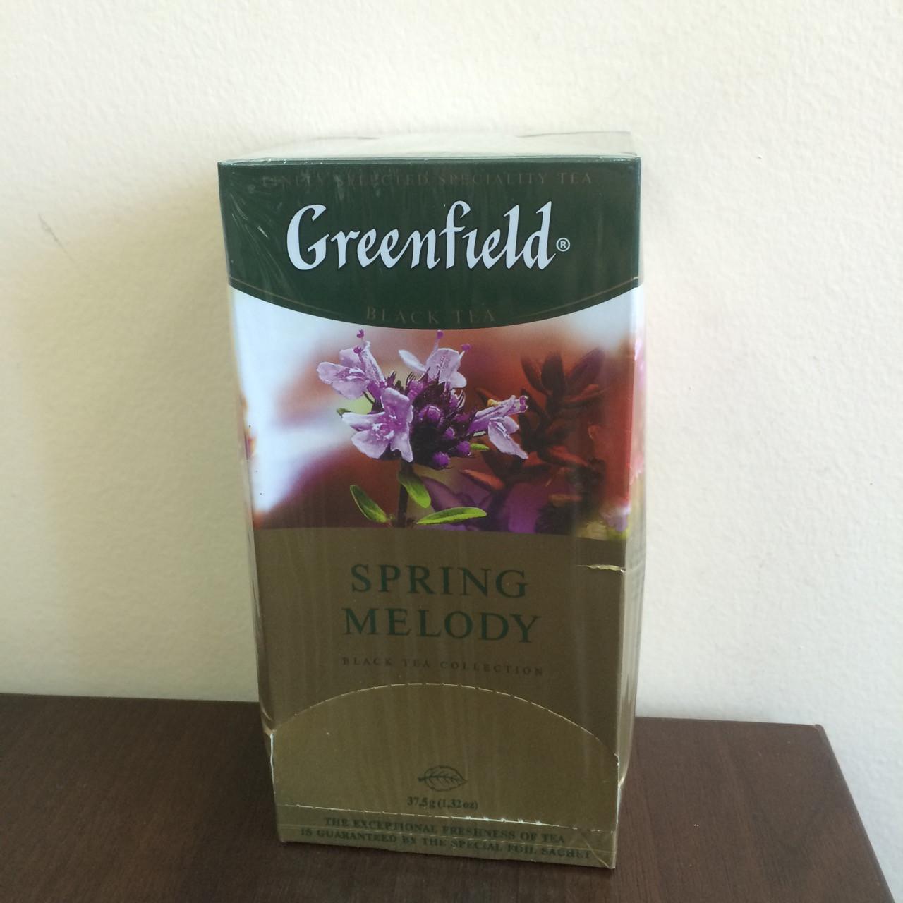 Чай Greenfield Spring Melody 25 пак.