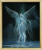 Набор для рисования стразами Ночной ангел КС-037