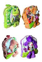 Рюкзак детский ИГРУШКА, 29*27*5 см.