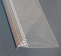 Профиль ПВХ КАПЕЛЬНИК с сеткой 100x150мм BAUMIT, 2,5м