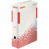 Архивные боксы быстрой сборки Esselte Speedbox 100мм, емкость 1000 листов, белый (623908)