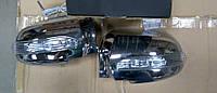 Накладки на боковые зеркала c повторителями поворотов  Hyundai Tucson 2004-