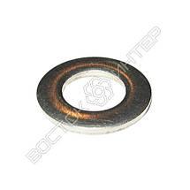 Шайбы плоские нержавеющие М42 DIN 125, ГОСТ 11371-78 | Размеры, вес, фото 2