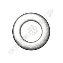 Шайбы плоские нержавеющие М48 DIN 125, ГОСТ 11371-78 | Размеры, вес, фото 3