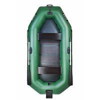 Двухместная надувная лодка с подвижным сидением и навесным транцем Ладья ЛТ-290-СТЕ