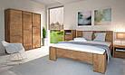 Кровать из массива дерева 057, фото 2