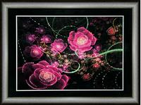 Набор для рисования стразами Розовое сияние КС-103