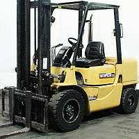 Вилочный погрузчик б/у CATERPILLAR DP-35-K, Дизель, сайд-шифт. б/у автопогрузчик CAT 3 тонны