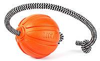 Резиновый мяч-игрушка со шнуром для собак Collar Liker Cord - Лайкер Корд