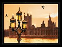 Набор для рисования стразами Вечерний Лондон КС-138