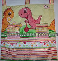 Карман на детскую кровать Розовый