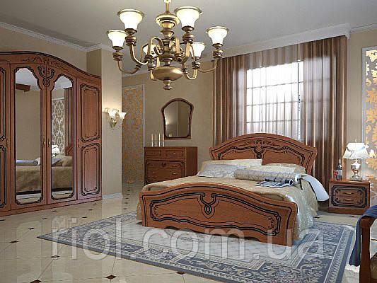 Кровать двуспальная Альба ТМ Неман