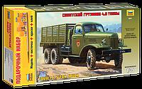 """Подарочный набор сборная модель Zvezda (1:35) Советский грузовик """"ЗиС-151"""""""